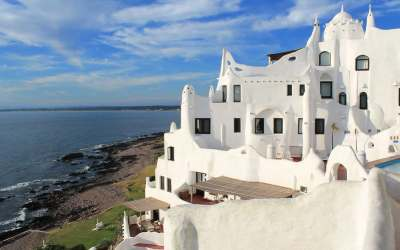 The sunset from Casapueblo – a Punta classic