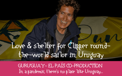 Love & shelter in Uruguay for Clipper round the world sailor