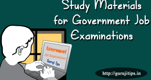 Government Job Examinations