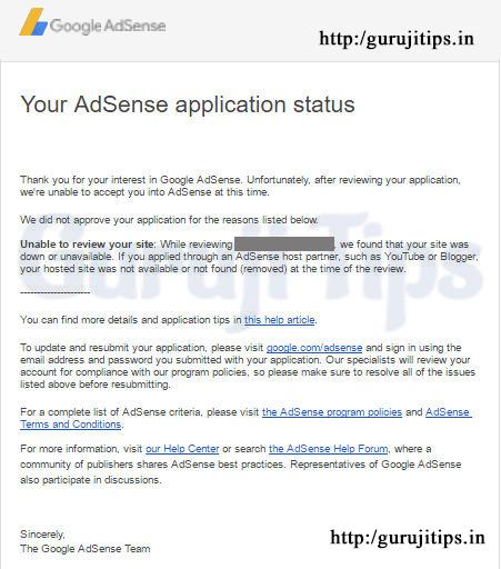 Adsense Email
