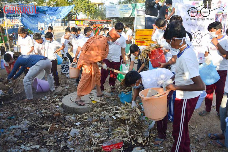hyderabad international school swachh bharat