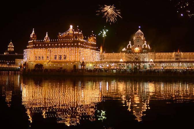 Golden temple gurupurab