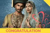Ranveer Deepika wedding congratulation