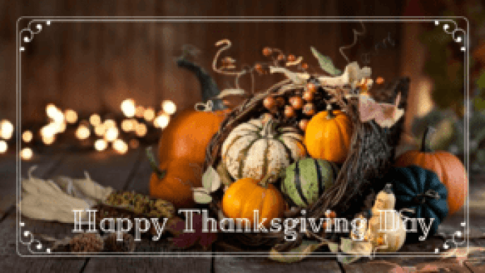 happy thanksgiving wishes for everyone