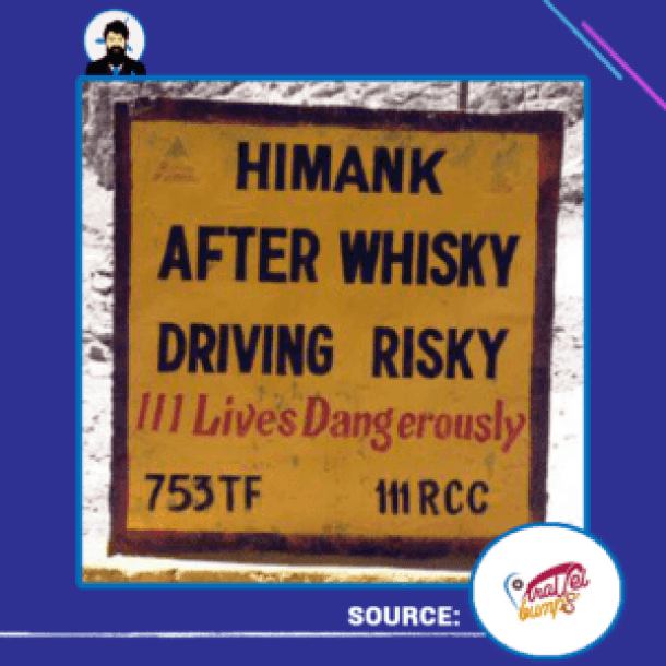himank-after-wisky-driving-risky