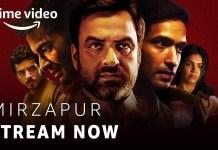 amazon prime original Mirzapur season 2