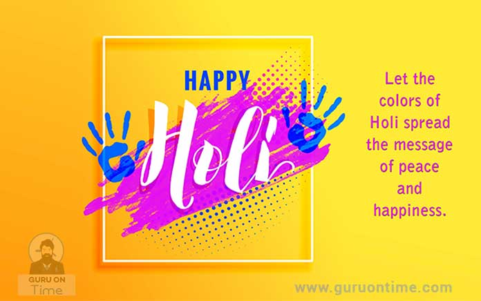 best holi messages