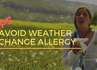 Avoid Weather Change Allergy