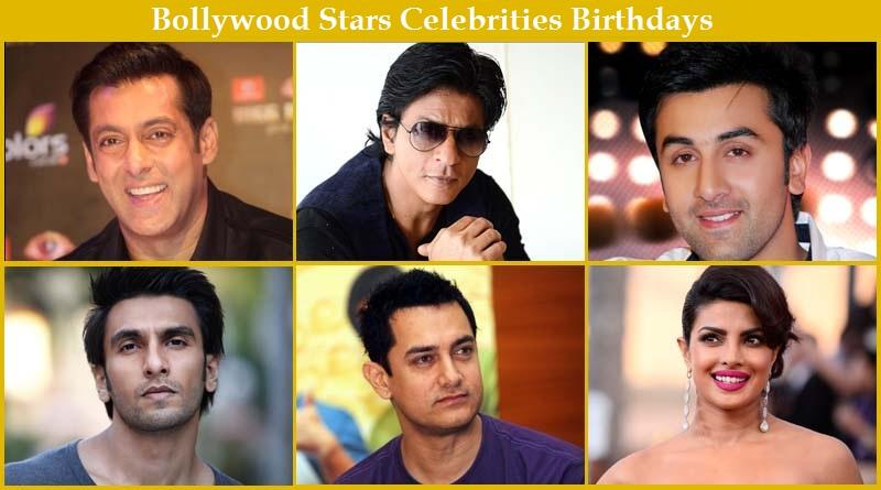 List Of Birthdays Of Indian Celebrities Bollywood