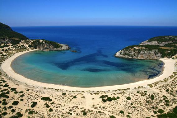 Voidokilia Beach Messinia Greece
