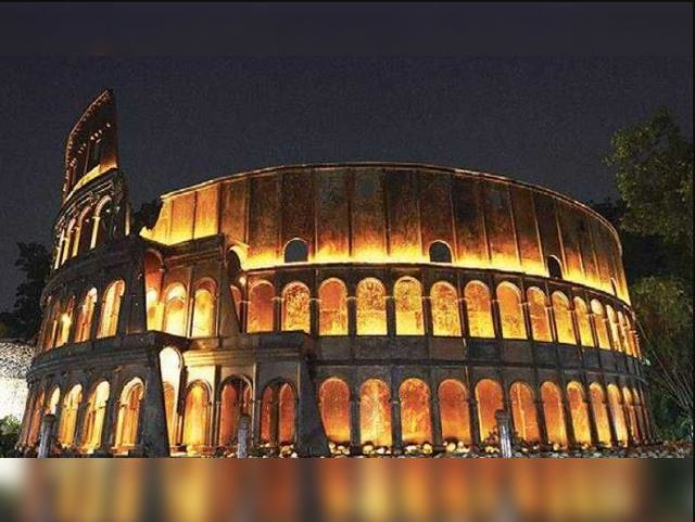 waste of wonder colosseum of rome
