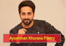 Ayushman Khurana Shyari Poetry