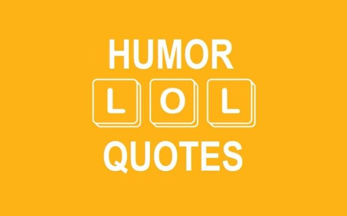 Humour Quotes