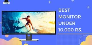 Best Monitors Under 10K in India