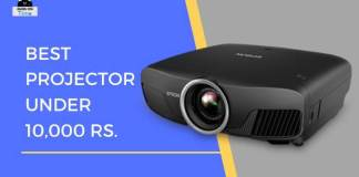 Best projector below 10K