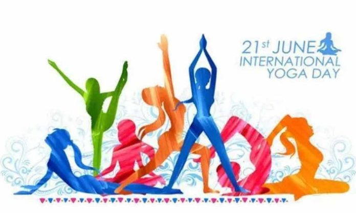 yoga day poster