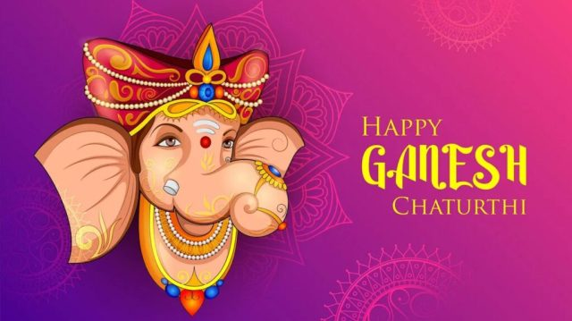 Happy Ganesh Puja Image