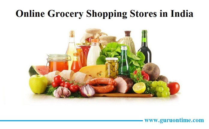 Online Grocery Shopping India