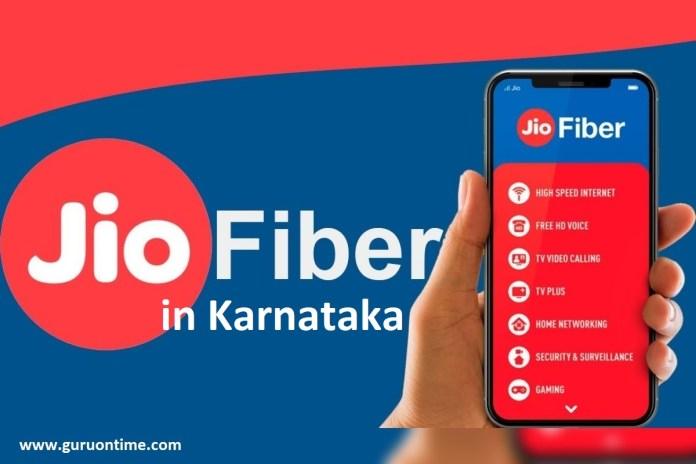 Jio Fiber Karnataka