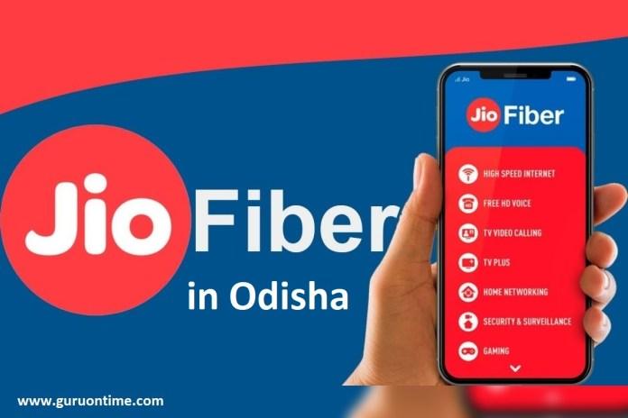 Jio Fiber Odisha