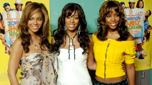 Beyonce Knowles, Solange Knowles, Kelly Rowland