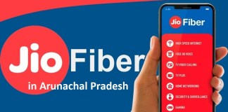 Jio Fiber Arunachal Pradesh