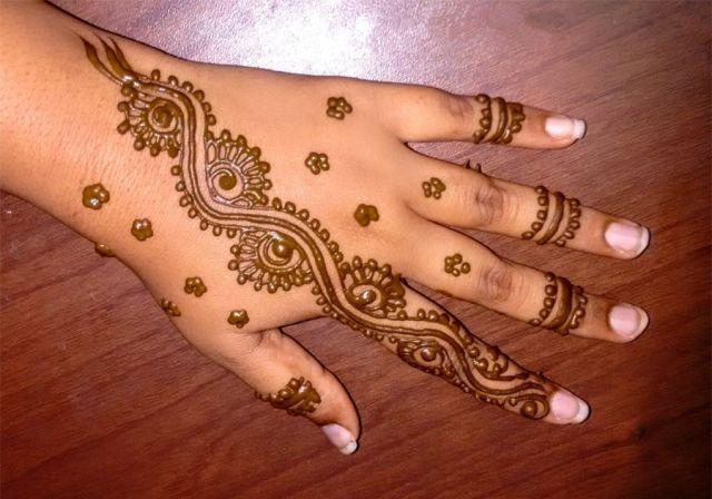 mehndi design raksha bandhan