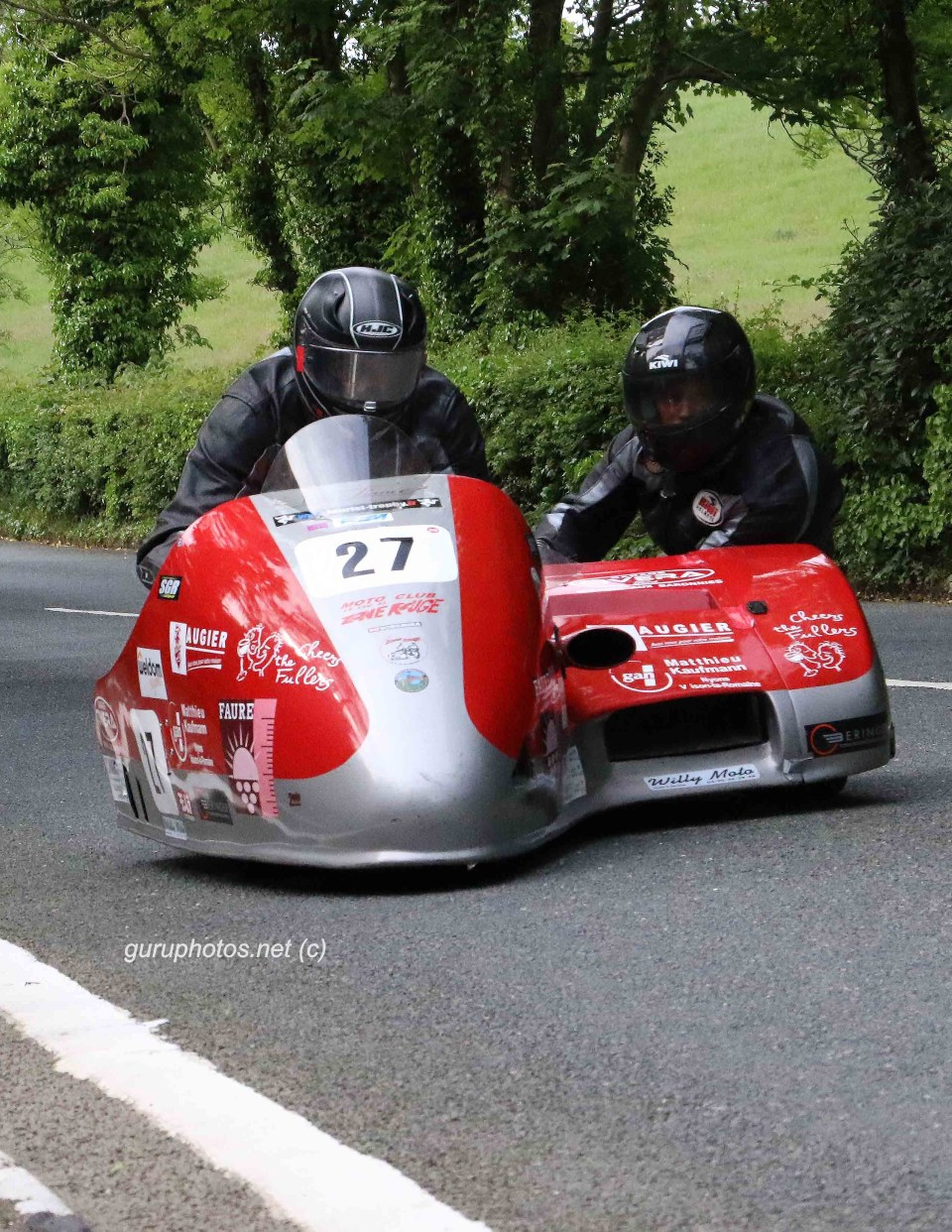 TT ISLE OF MAN Francoise leblond Marlene Coulliard