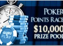 $10,000 poker race