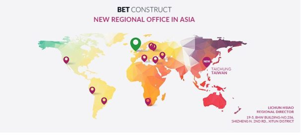 BetConstruct opens its office in Asia