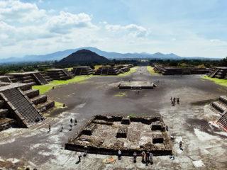 Пирамиды ацтеков в Мексике