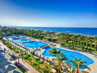 Туры в Аланью (Турция) на 10-11 ночей, отели 4 и 5* с водными горками, все включено от 57 753 руб за ДВОИХ — июнь