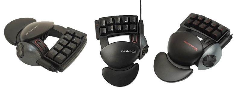 Adjustable Ergonomic Gaming keypad