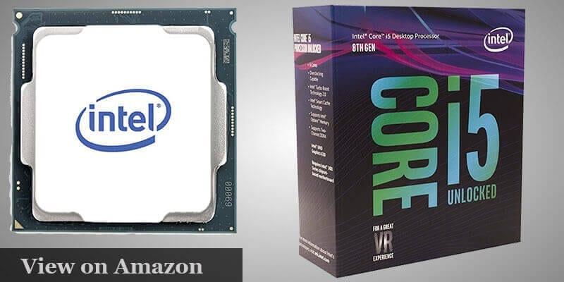 Intel Coffee lake Core I5 8600K Processor Pc Build under $1000