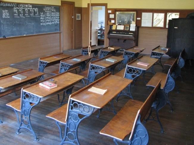 1887 salle de cours