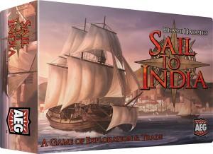 Graphiquement grandiose, la couverture pour la version AEG du jeu. Le minimalisme, une question d'éditeur, plus que d'auteur ?