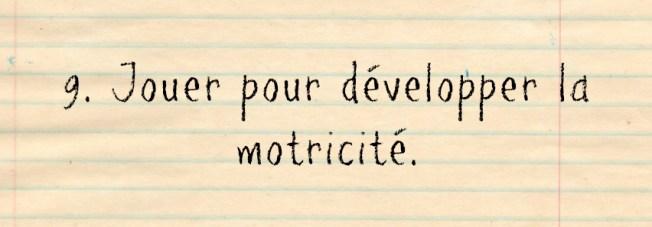 motricité