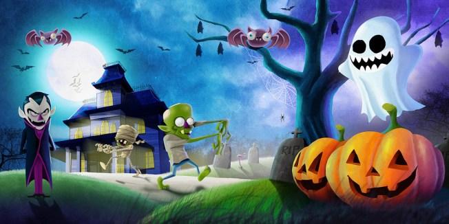 Halloween La Polar, Flicrk, CC, by Oscar Chávez!