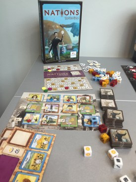 Nations version dés
