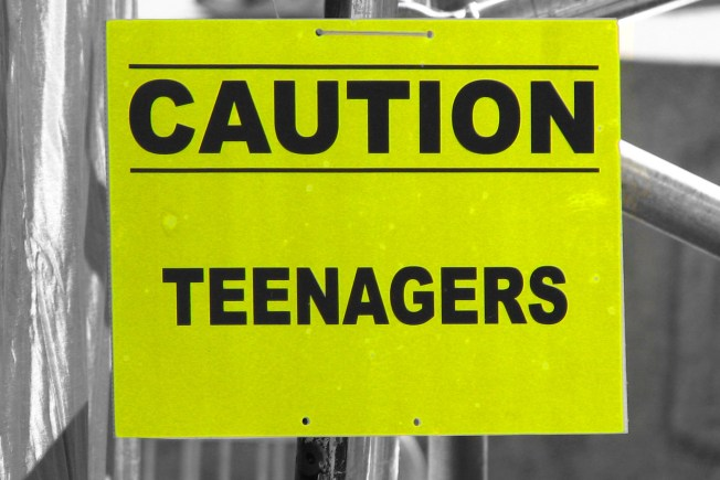 Caution: Teenagers, Flickr, CC, by www.CGPGrey.com
