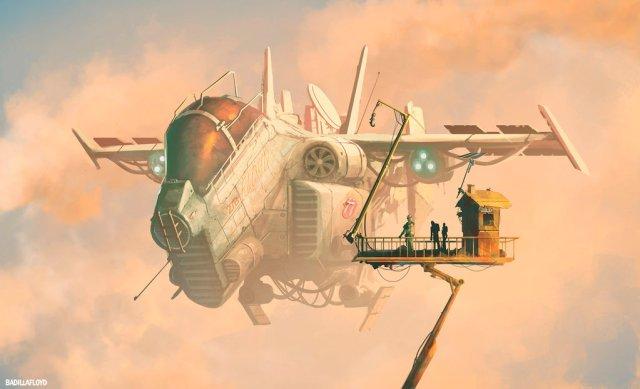 Scrap ship, Deviantart, by badillafloyd