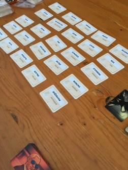 Codenames. Gros carton.