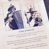 Caesar's Glory. Un jeu de cartes puissant de combats de gladiateurs