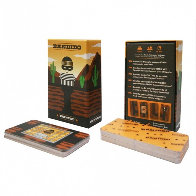 Confinement : Découvrez le jeu de société Bandido, à imprimer chez soi. Et c'est gratuit !