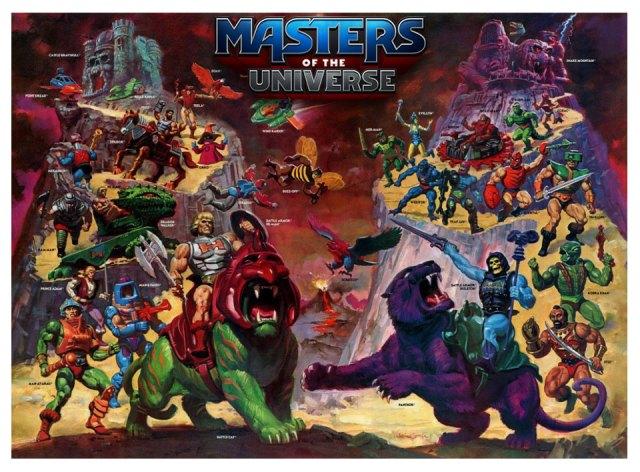 Les Maîtres de l'Univers bientôt en jeu de plateau chez CMON