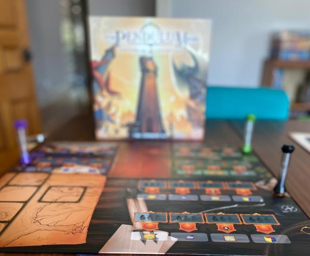 Avec Pendulum, le prochain jeu Stonemaier, vous allez prendre votre temps