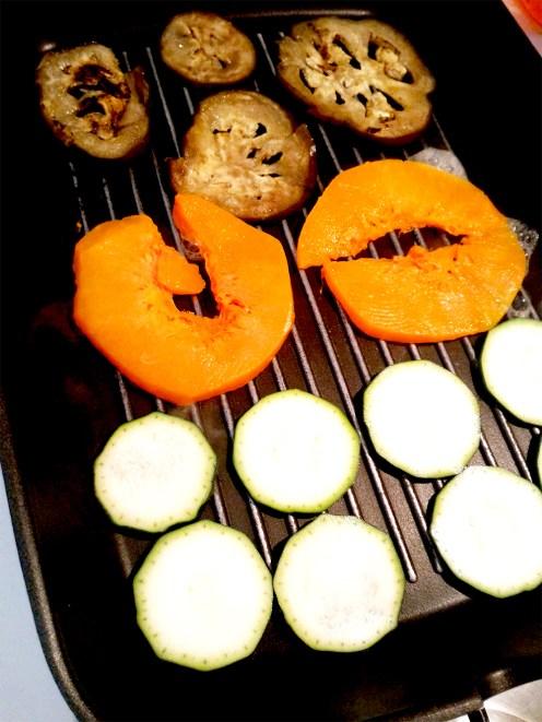 melanzana, zucca, zucchine
