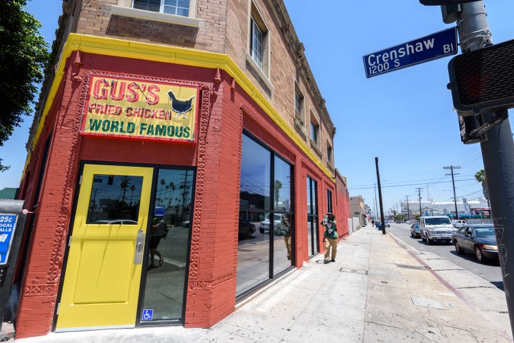 Gus Fried Chicken Los Angeles Street Gus S World Famous Fried