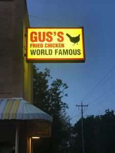 Gus Fried Chicken Oxford MS night