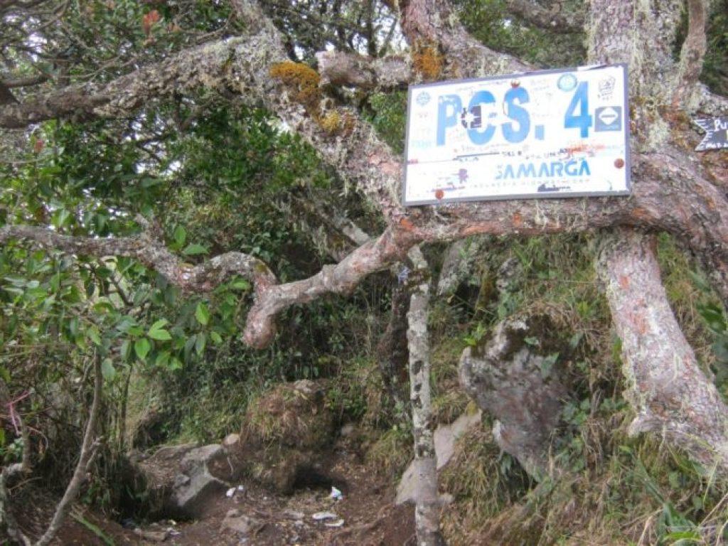Pos 4 Jalur Cemoro Sewu Gunung Lawu